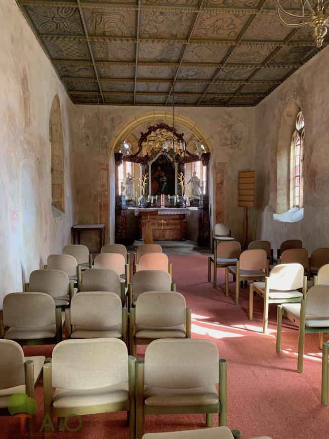 interior st anna chapel zeil