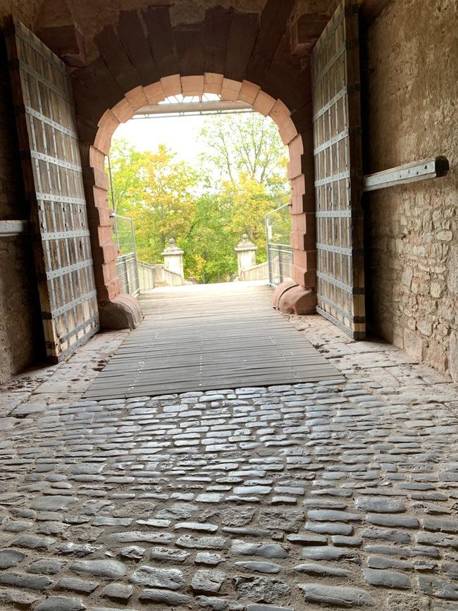 marienberg fortress cobblestones