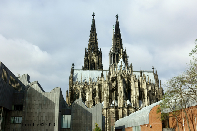 Cathedral in cologne Baird photo