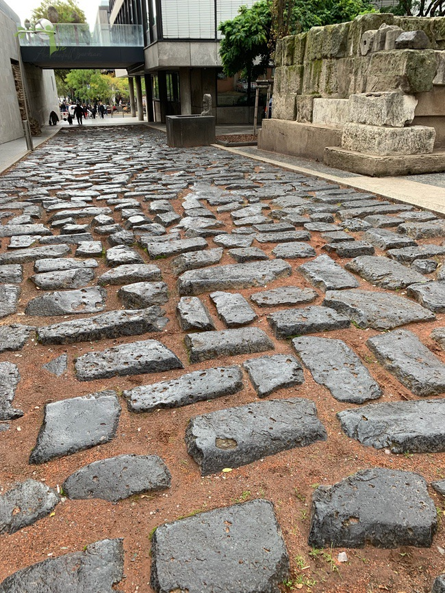 cobblestones in cologne