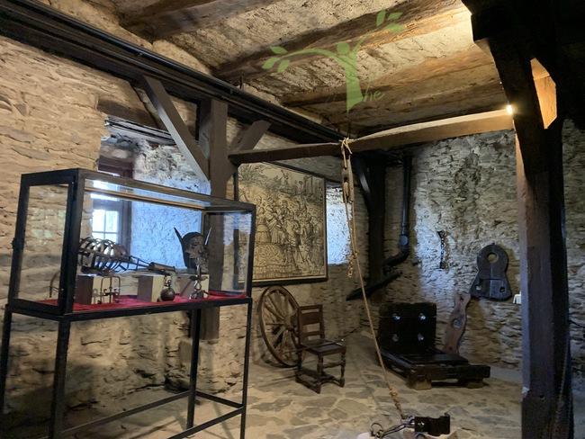Marksburg Castle torture chamber