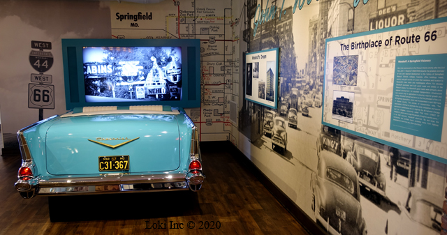Route 66 in Springfield Museum