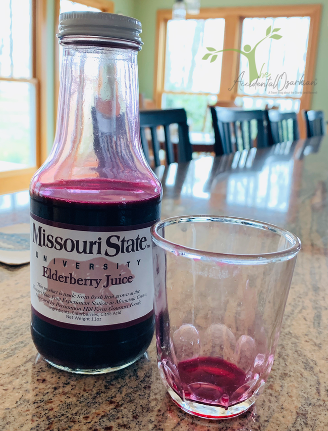 Elderberry juice Missouri