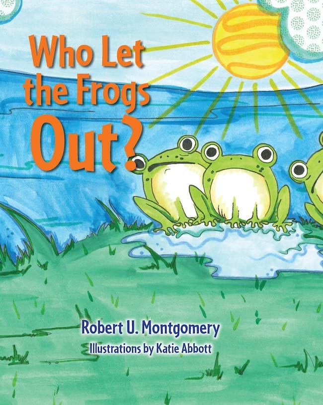 Who Let the Frogs Out jacket cover
