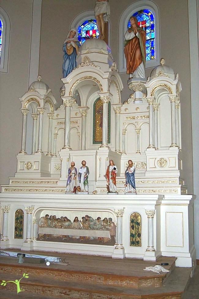Holy Family Church altar