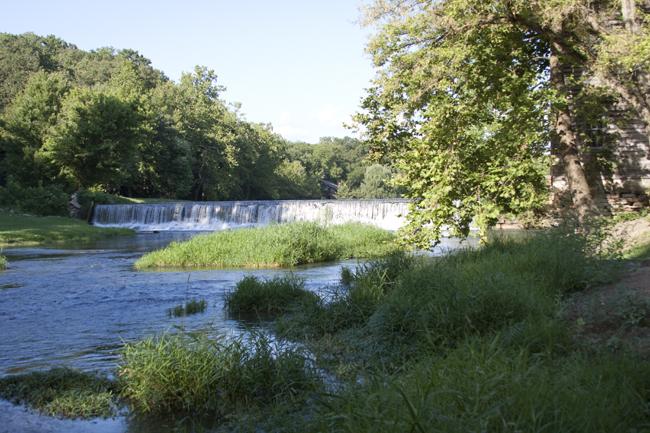 Capps Creek dam Jolly Mill