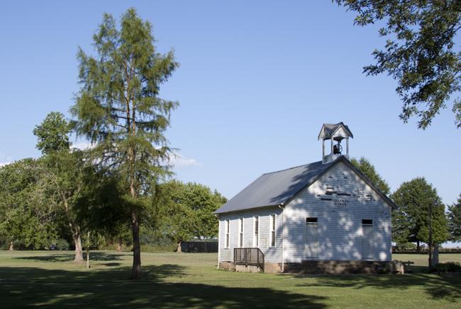 Chapman Schoolhouse (Jason Baird photo)