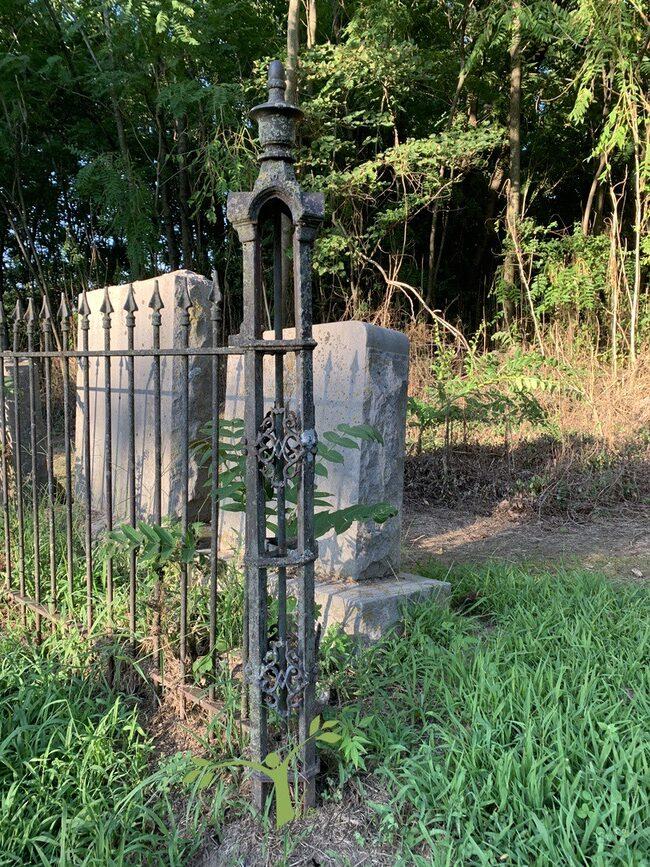 Civil War Cemetery fence