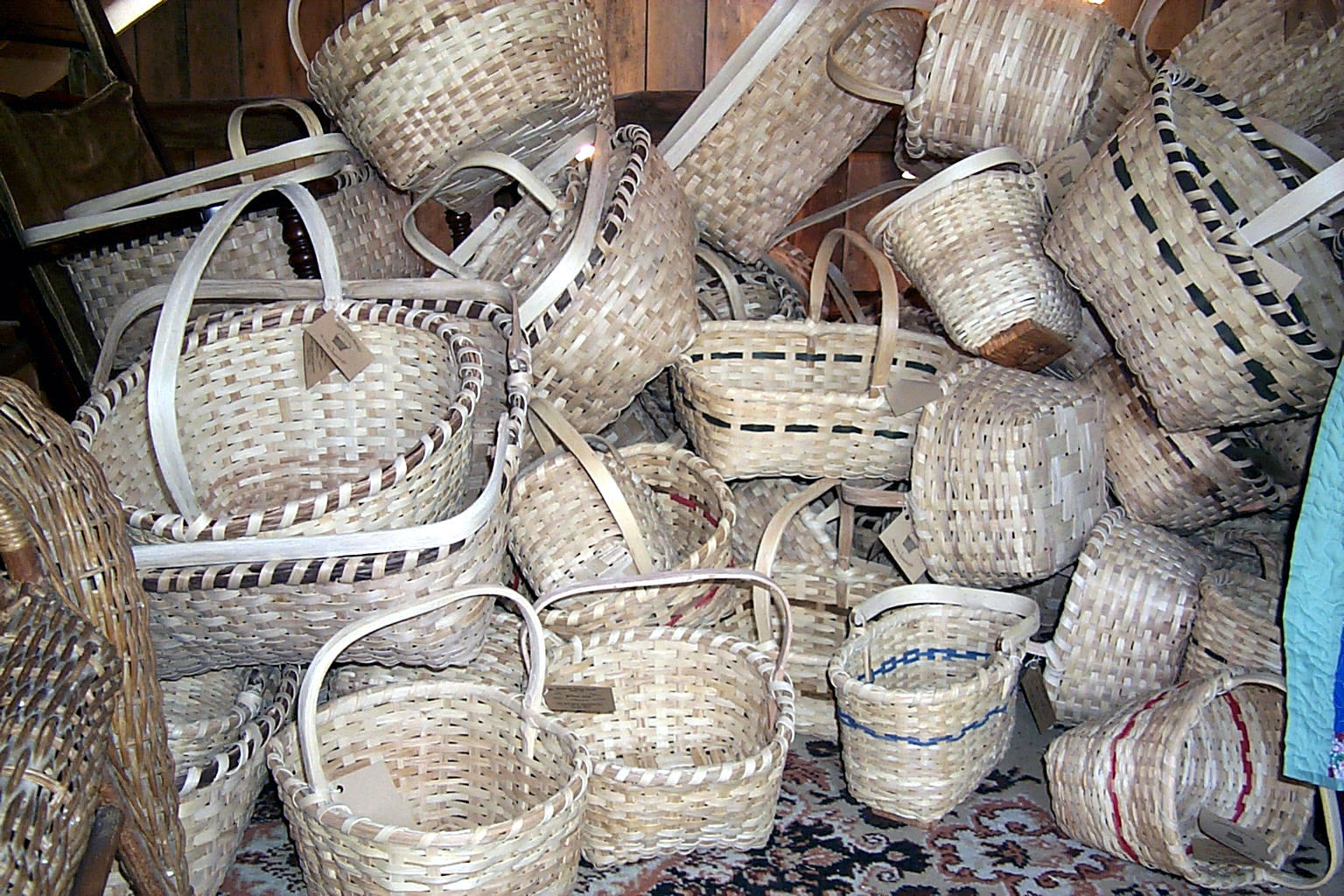 martha stewart of the ozarks baskets