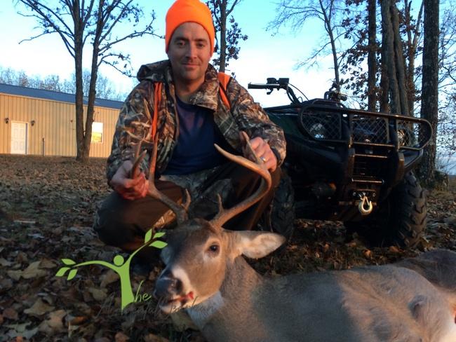deer hunting in the Ozarks big deer