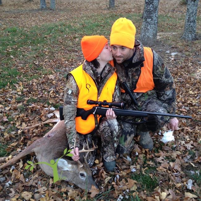 her first deer ozarks
