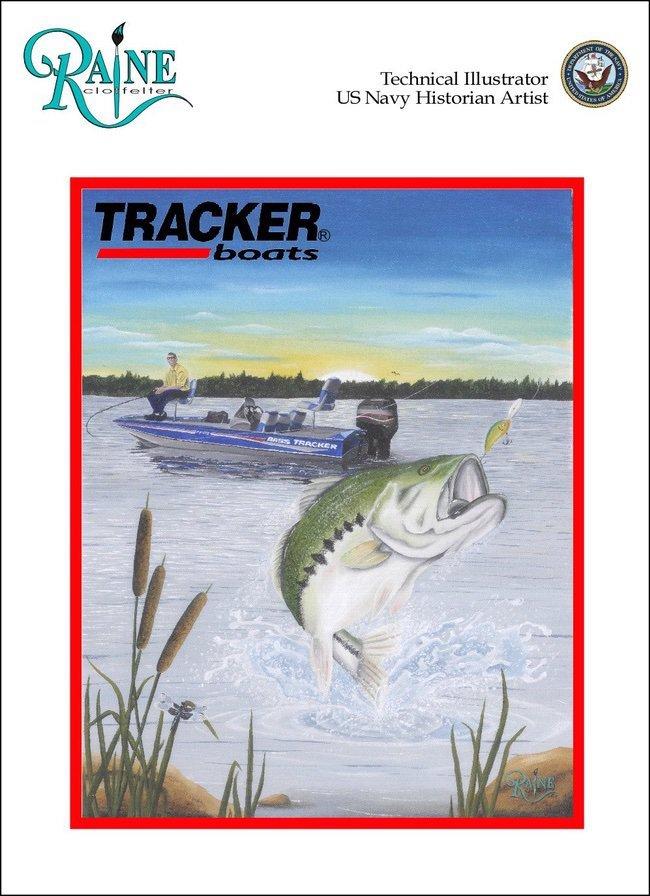 Raine Clotfelter Tracker art