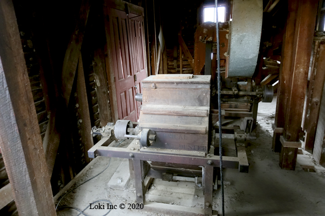 flour bin Topaz Mill