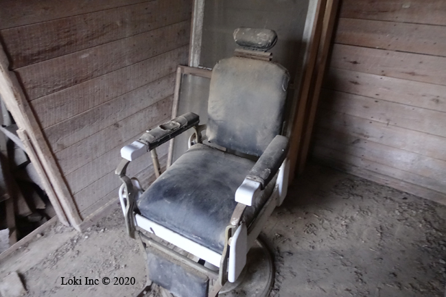 barber chair topaz mill