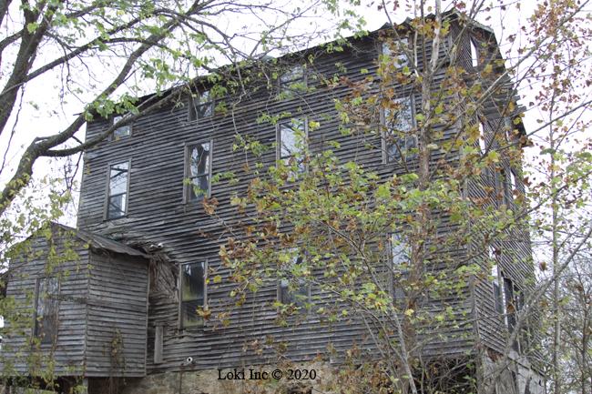 Hammond Mill east wall