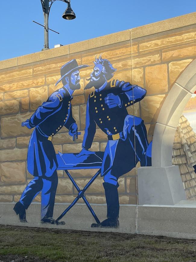 Generals Grant and Prentiss